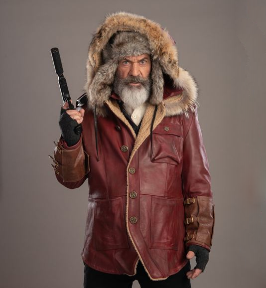 Mel Gibson Fatman Parka Jacket - front