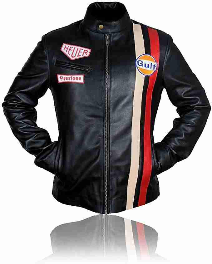 Steve McQueen Le Mans Gulf Racing Jacket