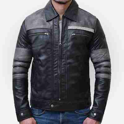 Leo Fitz's leather jacket from Agents of Shield