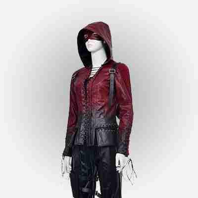 Arrow Season 4 Thea Queen Hooded Jacket