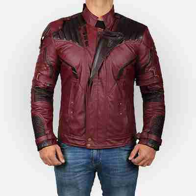 Avengers Endgame Infinity Star Lord Leather Jacket