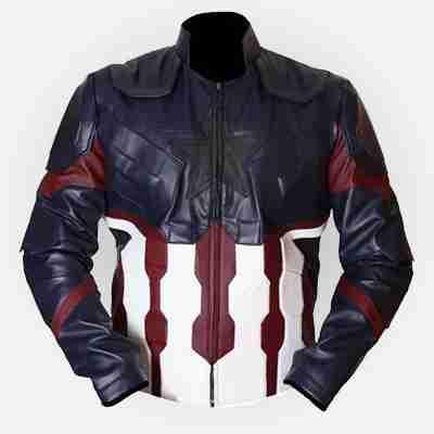 Infinity War Cosplay Captain America Jacket