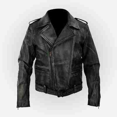 Captain Marvel Carol Danvers Biker Leather Jacket