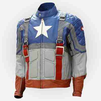 The First Avenger Captain America Leather Jacket