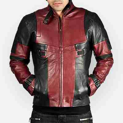 DeadPool Ryan Reynolds Motorcycle Jacket