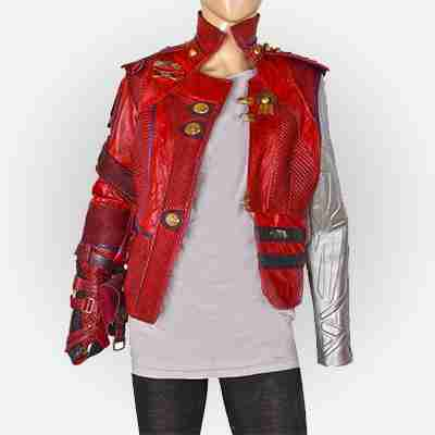 Guardians Of The Galaxy 2 Nebula Leather Jacket