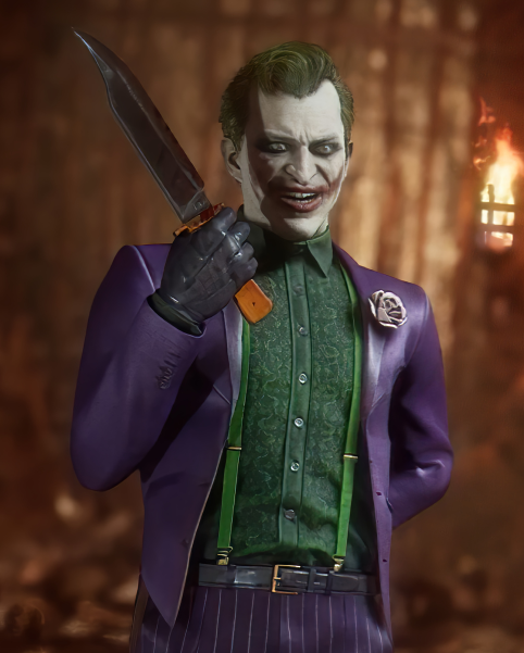 Mortal Kombat 11 Joker Jacket