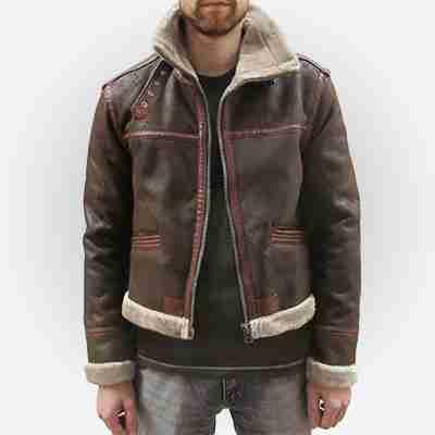 Resident Evil 4 Leon S Kennedy Leather Jacket