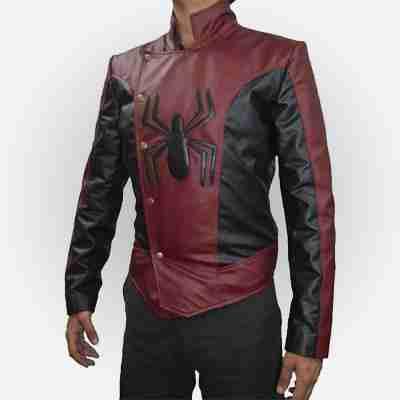 Spiderman Last Stand Leather Jacket