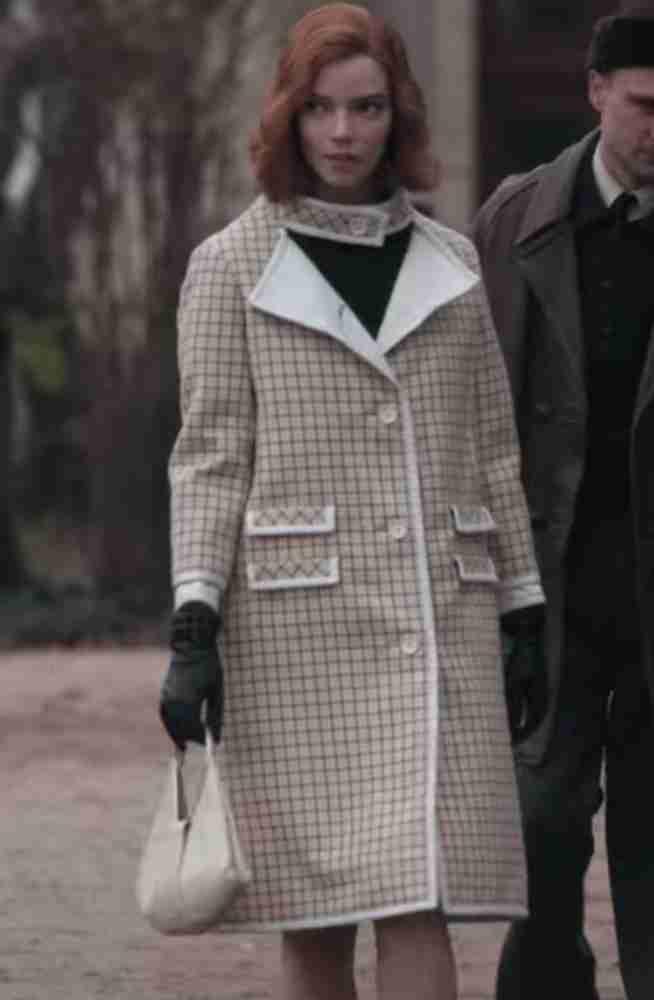 The Queen's Gambit Anya Taylor-Joy Coat