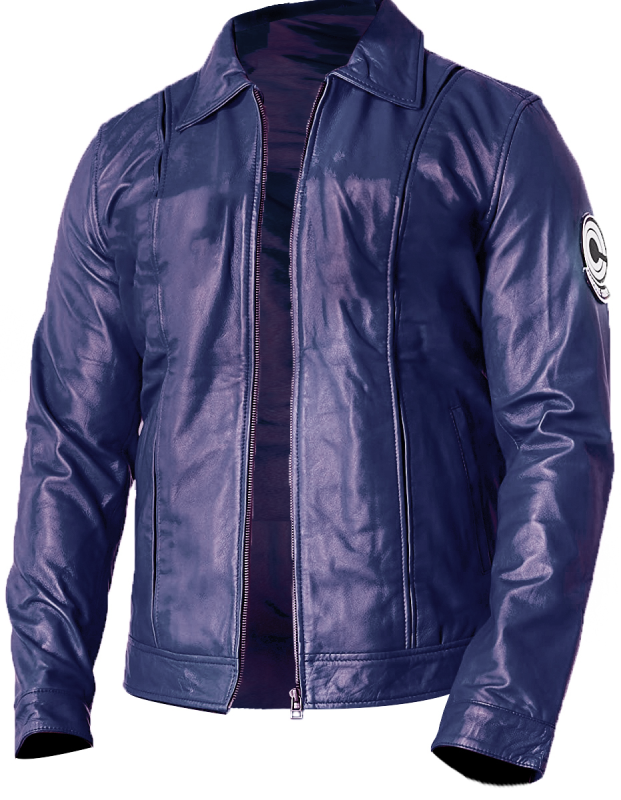 Future Trunks' Capsule Corp leather jacket - front