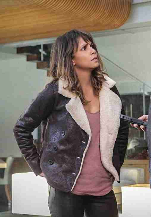 Halle Berry as Molly Woods in the TV show Extant