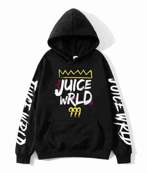 Juice Wrld's black 999 hoodie - front