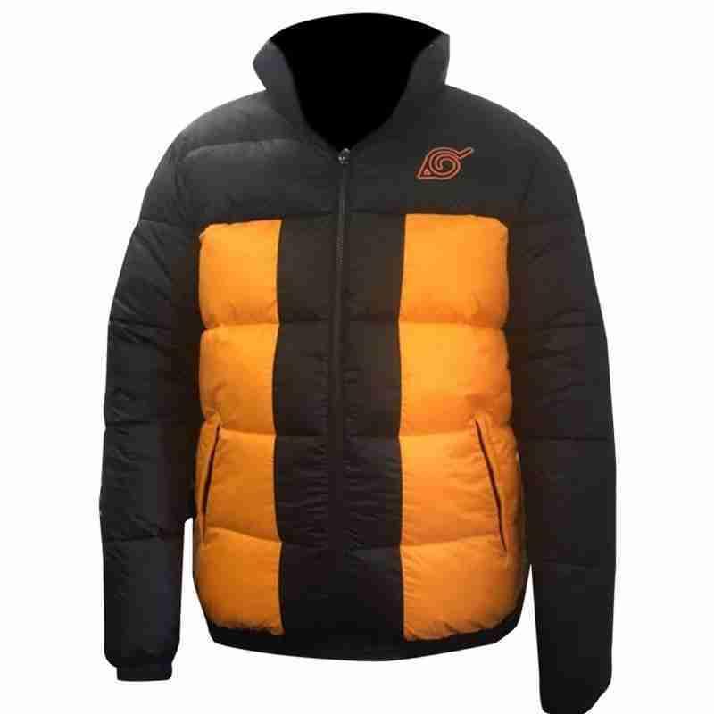 Naruto Uzumaki Puffer Jacket - Product image