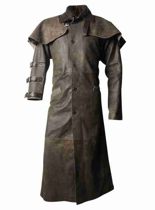 Hellboy's leather duster coat from the 2004 movie: Hellboy