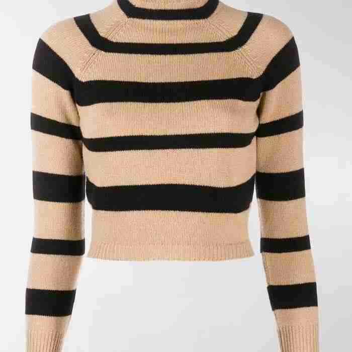 Anna Kendrick Love Life Striped Sweater