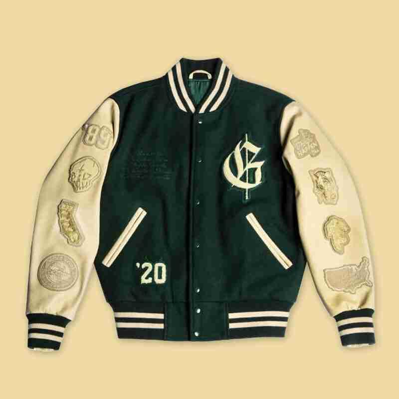 G-Eazy Letterman Jacket - front