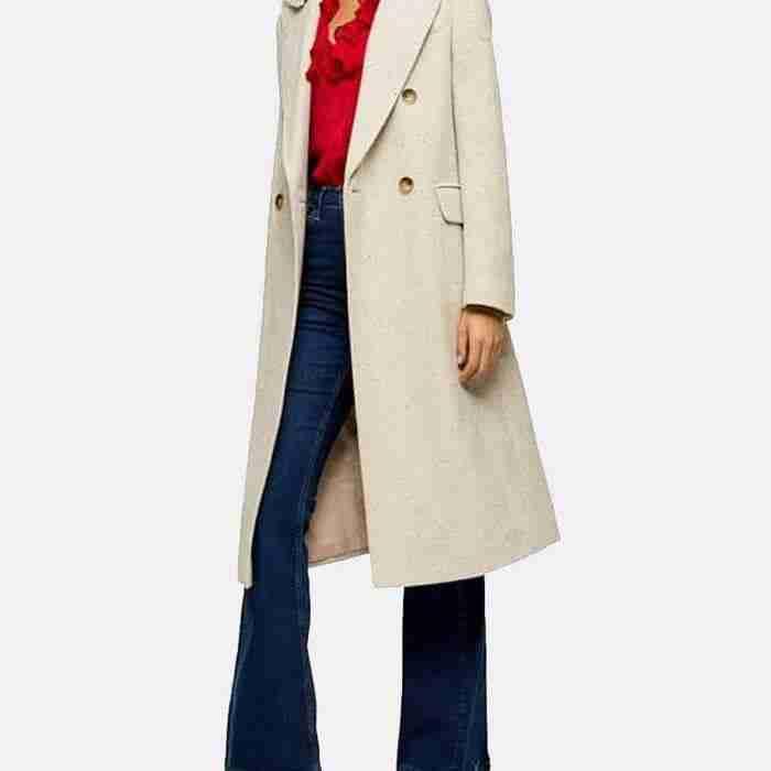 Love Life Sara Yang Coat With Shearling Collar