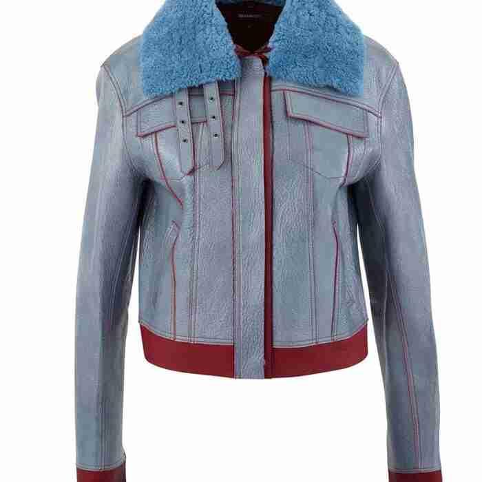 Love Life Sara Yang Shearling Leather Jacket