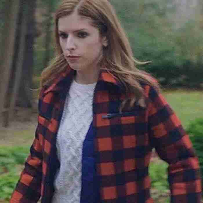 Love life Darby Red Checked Jacket