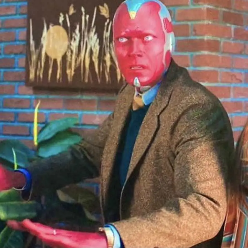 Vision (Paul Bettany) from WandaVision