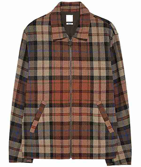 Jughead Jones' plaid jacket from Riverdale season 05 - front view