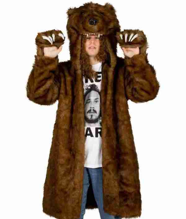 Workaholics brown bear costume - front