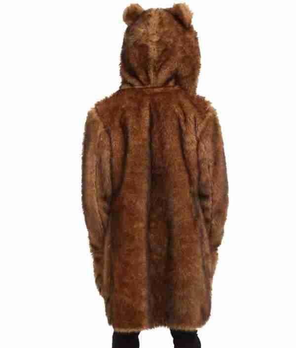 Bear costume fur coat from Workaholics - back