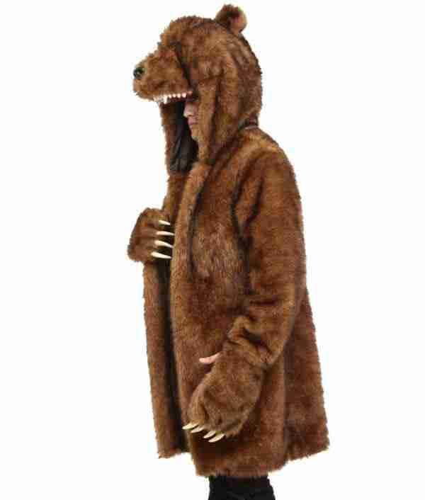 Brown bear costume fur coat from Workaholics