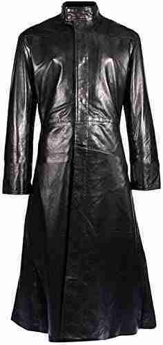 Keanu Reeves' leather trench coat from the Matrix - front