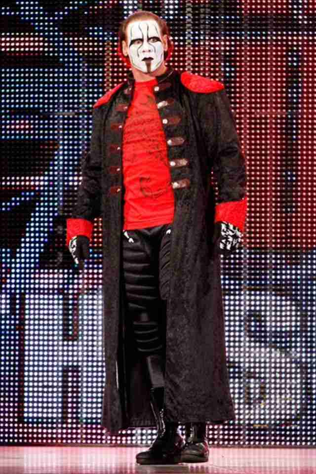 Steve Borden aka Sting in WWE Night Of Champions