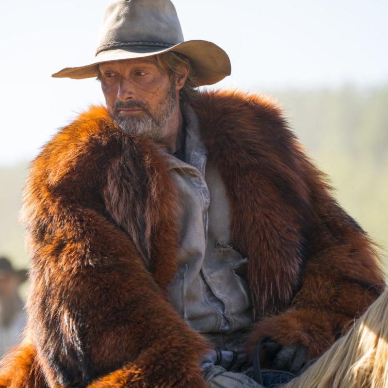 Chaos Walking Mads Mikkelsen Fur Coat
