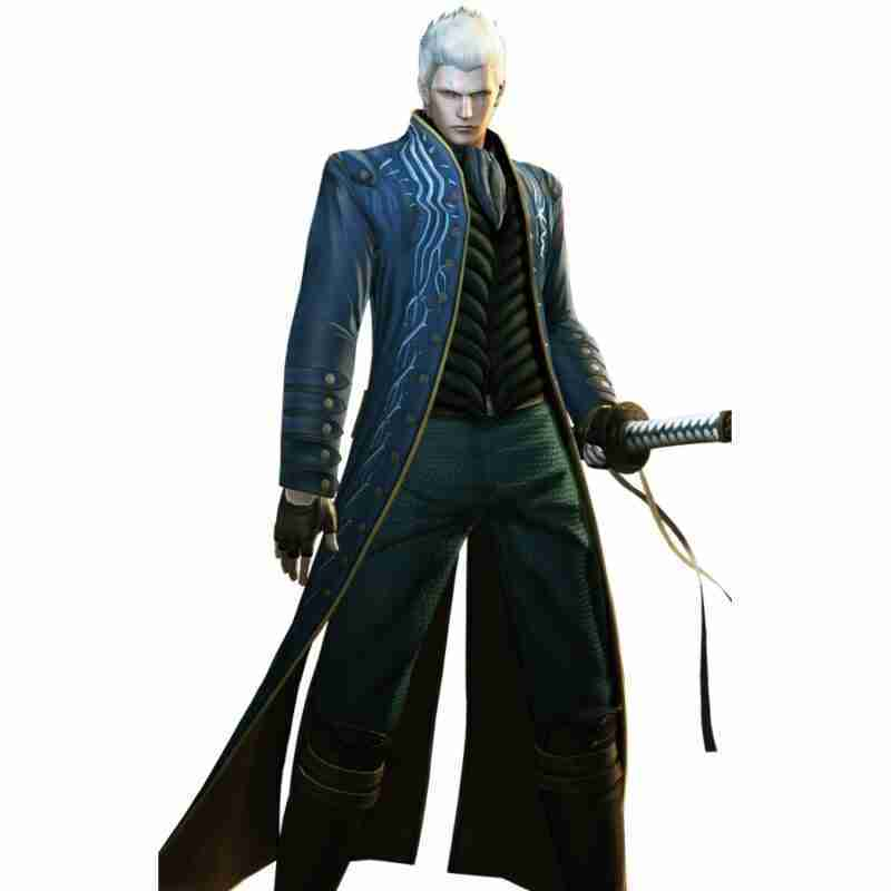 Devil May Cry 3 Vergil Coat with Vest