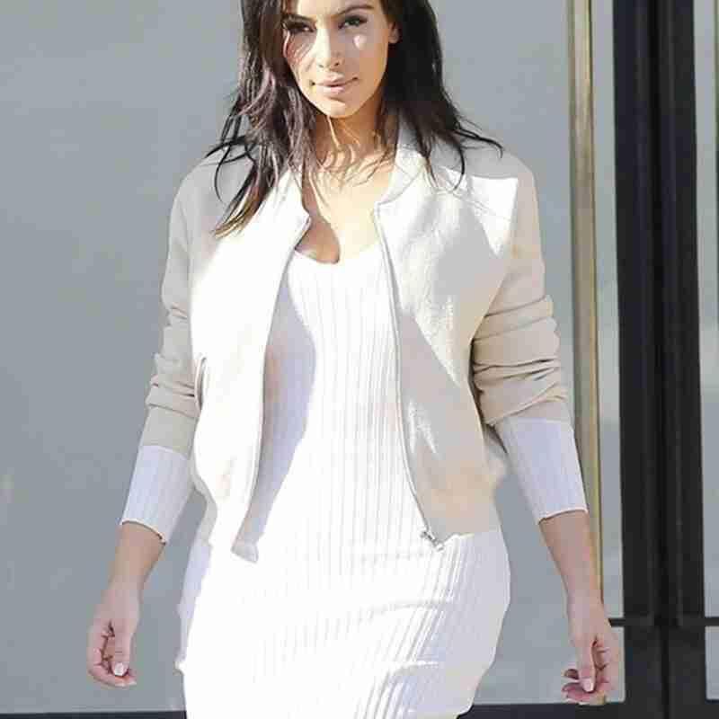 Kim Kardashian Stunning Jacket