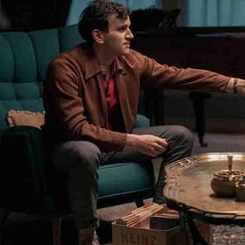 Harry Melling as Harry Beltik in The Queen's Gambit TV miniseries