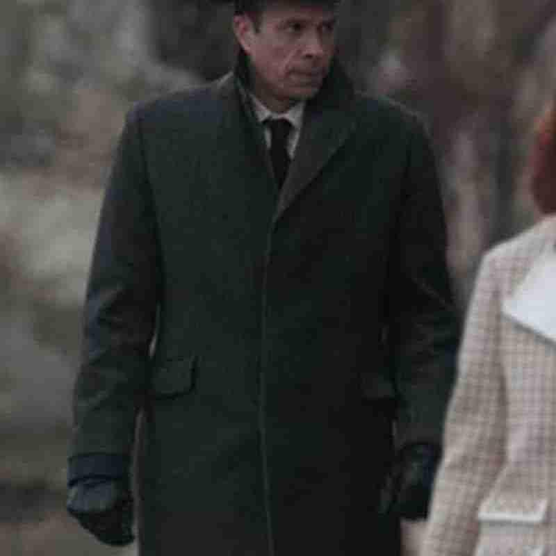 John Schwabb as Mr. Booth in The Queen's Gambit