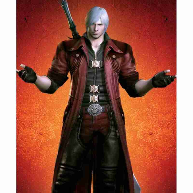 Dante Devil May Cry 4 Leather Coat
