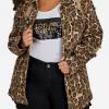 Leopard print denim jacket of Queen Latifah from Star Season 02