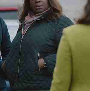 Good Girls Retta quilted bomber jacket