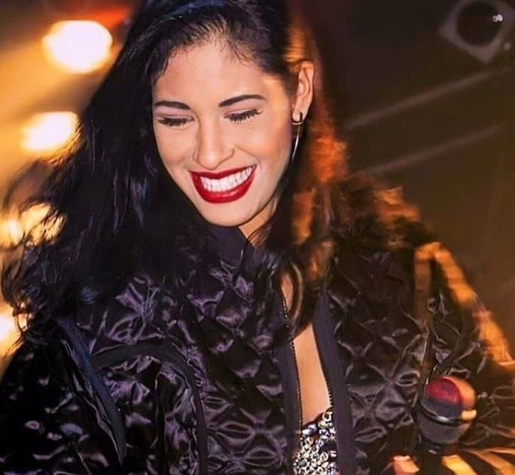 American Singer & Song Writer Selena Quintanilla Black Quilted Jacket