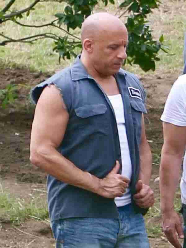 Dominic Toretto Fast and Furious 9 Cotton Vest