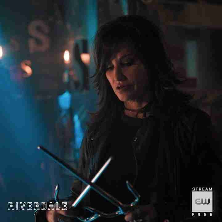Jones Gina Gershon Riverdale Gladys Black Leather Jacket