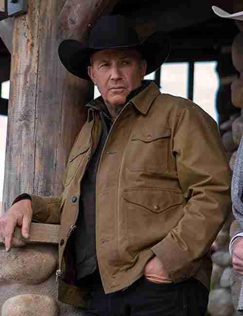 John Dutton Yellowstone S02 Brown Jacket