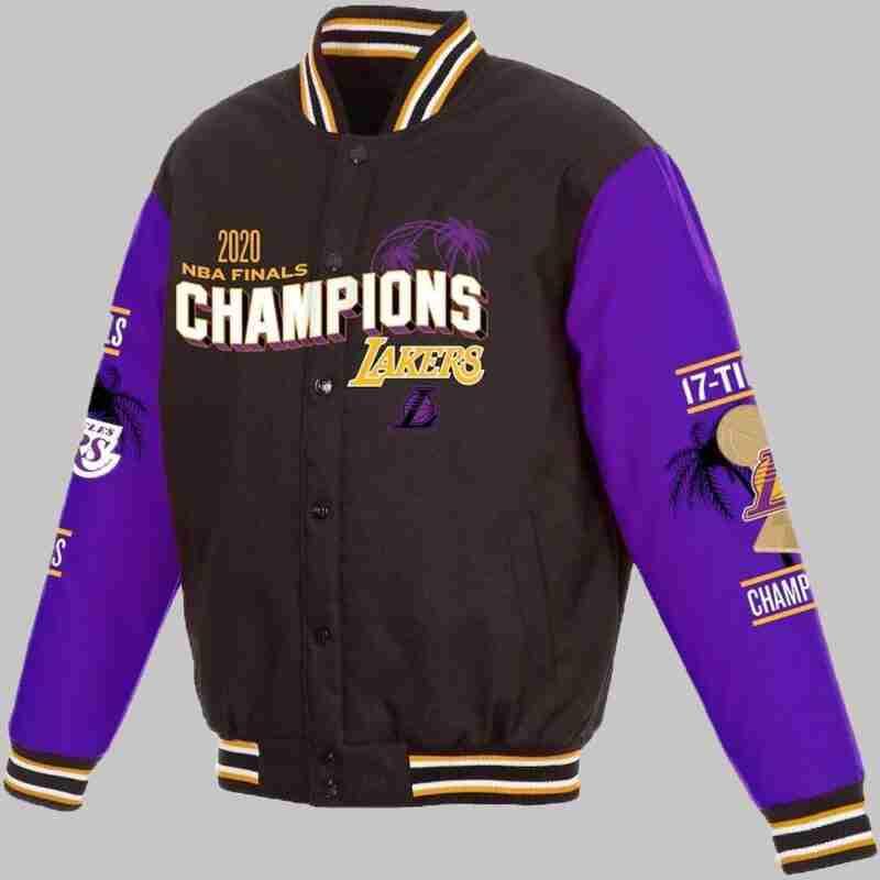 Los Angeles Lakers 17x Jacket