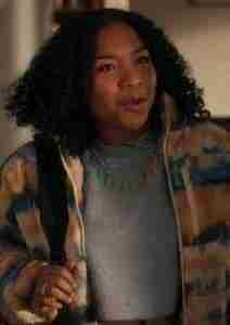 The Equalizer Delilah McCall Tie Dye Jacket