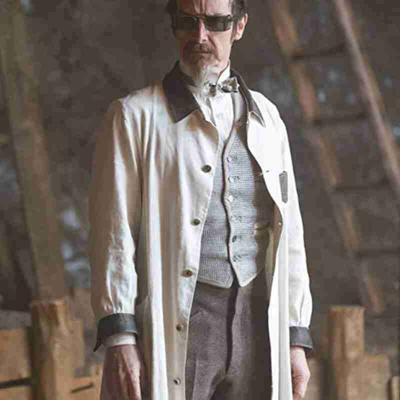 Dr. Edmund Hague The Nevers 2021 Denis O'Hare Trench Coat