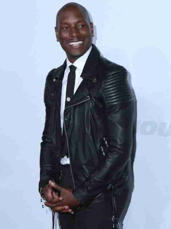 Tyrese Gibson Fast and Furious 7 Jacket