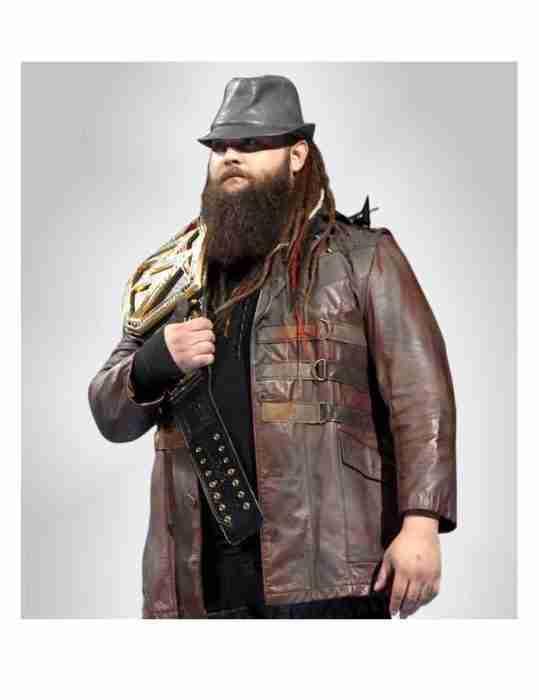 Wwe Bray Wyatt Brown Leather Jacket