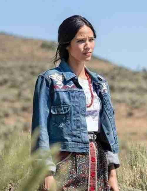 Monica Dutton Yellowstone S03 Denim Jacket