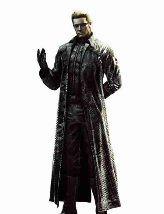Resident Evil 5 Albert Wesker Coat